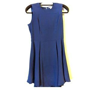 Royal Blue H&M Sheeth Dress